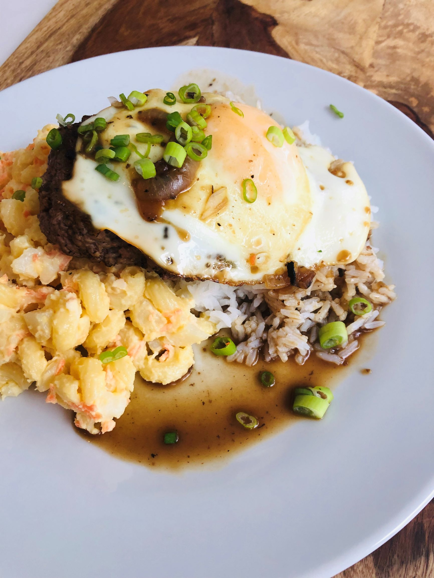 Hawaiian Loco Moco Garbage Plates Luria Co
